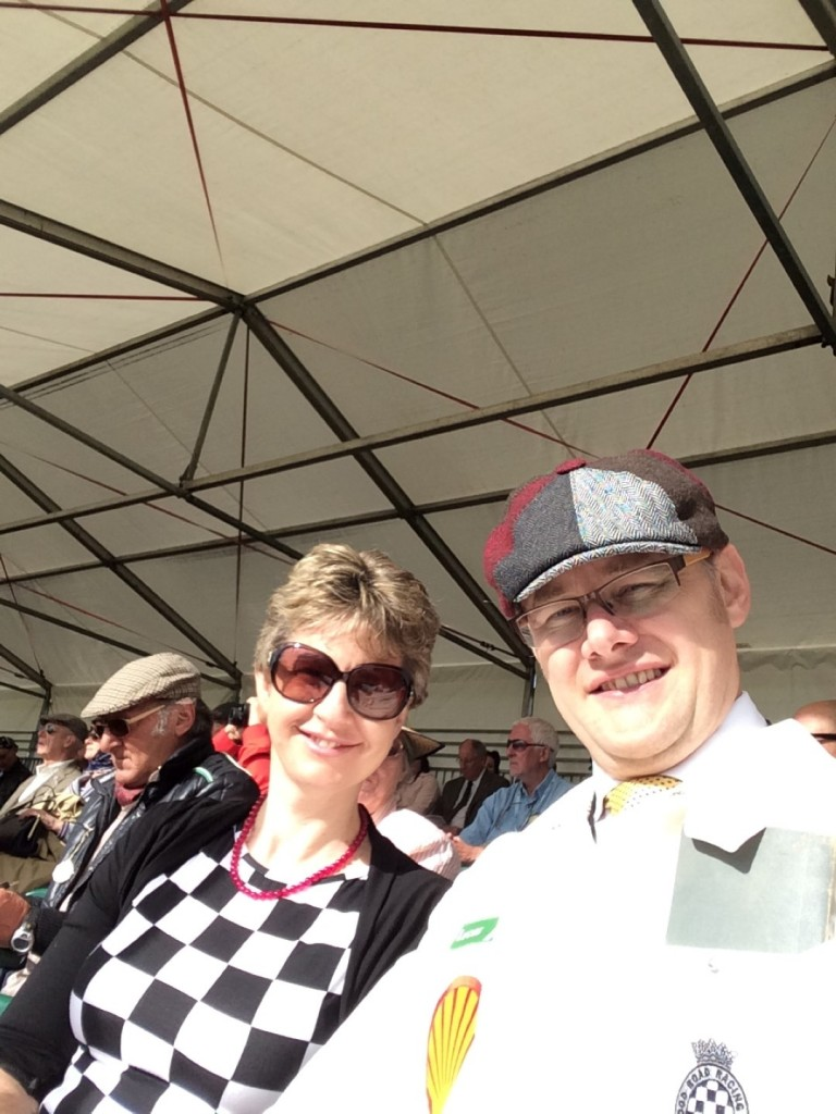 In the Grandstand