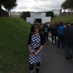 Proof that we're at Goodwood