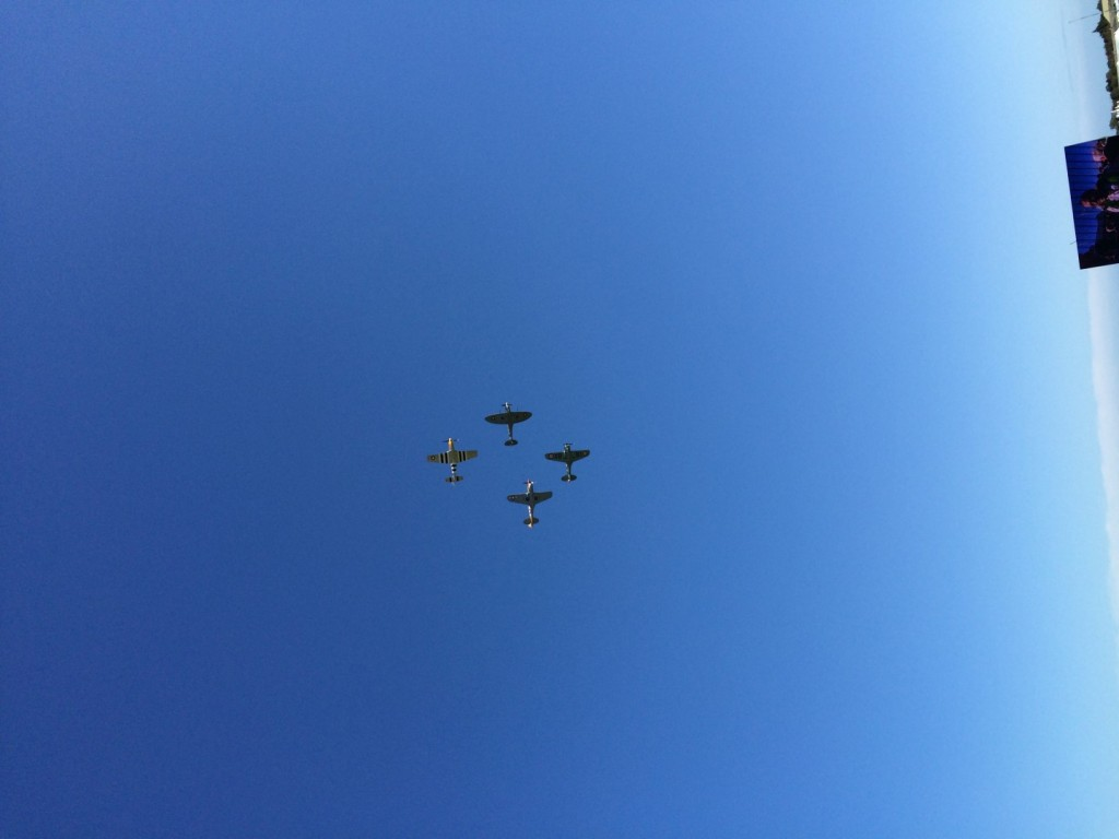 Warbirds in the air