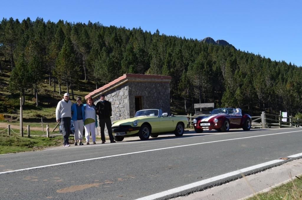 Top of the San Gloria Pass